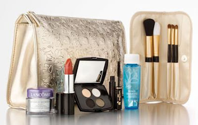 """As you probably know by now, I'm super obsessed with freebies from makeup counters. I realize that the whole """"gift with purchase"""" things isn't really free; ..."""