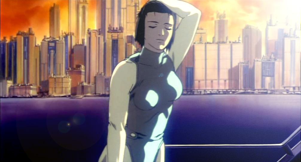 Major Motoko Kusanagi from Ghost in the Shell (1995)
