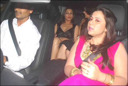 being spotted without underwear at the recently held Karan Johar bash