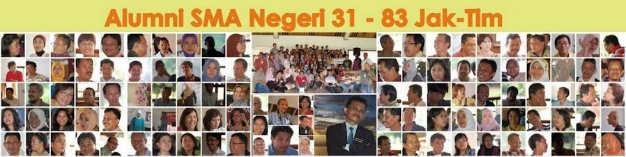 Alumni SMA Negeri 31-83 Jakarta Timur