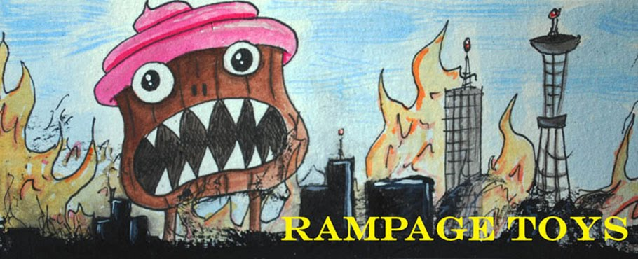 RAMPAGE TOYS and ART