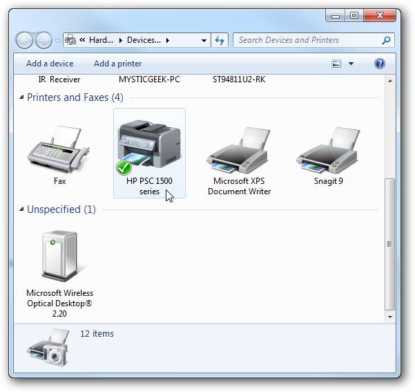 Как сделать принтер локальным на windows 7
