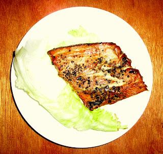 Smoked tayan-tayang fish Siargao Island Philippines