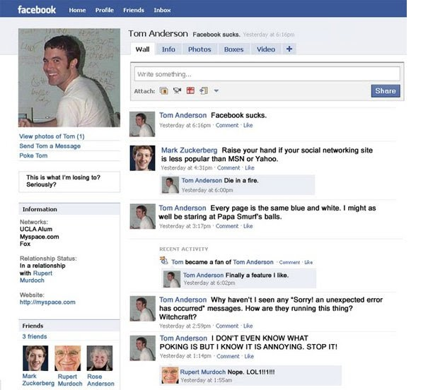 Mark Zuckerberg VS Tom Anderson !! ~lol~. posted by kudin72