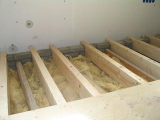 Underlayment platen als vloer