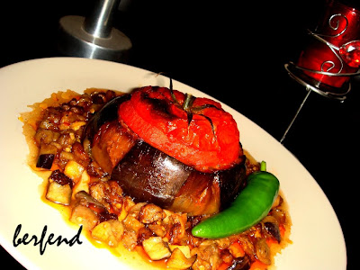 Domates Biber Patlıcan / Tomato Pepper Eggplant