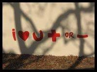 SWAZILAND:  I love you postive or negative
