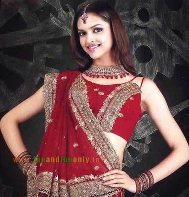 Deepika Padukone in Saree Wallpapers