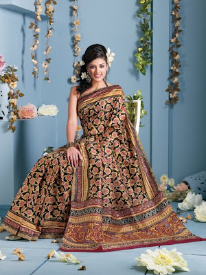 Sarees Of Printed Photos