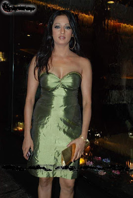 Brinda Parekh In Green Dress Photos