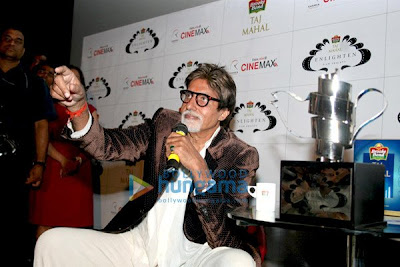 Amitabh Bachchan won The 'Taj Tareef' Award picture