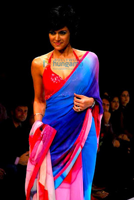 Models walk the ramp at Satya Paul's show at Lakme Fashion Week 2010 pics