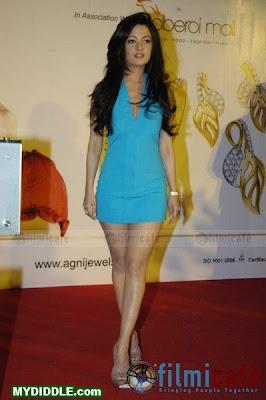 Riya Sen in the Shortest dress ever made photo