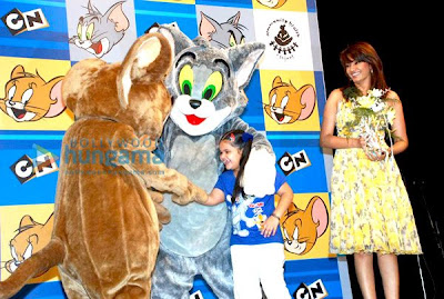 Diana Hayden at Tom N Jerry's birthday image