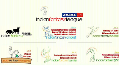 Indian Fantasy Cricket Game Website IndianFantasyLeague.com Unveiled