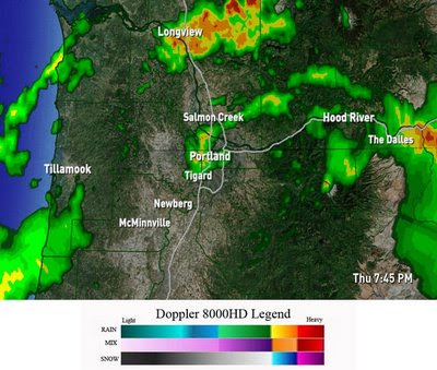 Closures Announced in Western Oregon & SW Washington Over Storm