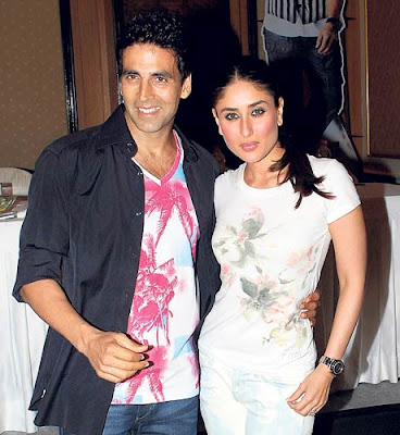 Bebo-Akshay captured in hi-rise cam!