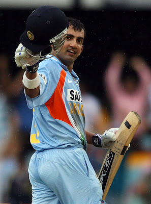 Gambhir moves up to No. 3