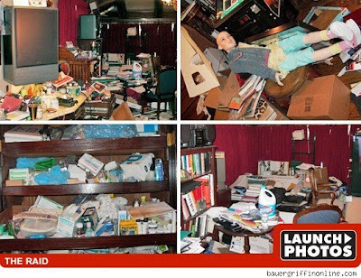 Neverland Ranch -- The Raid Photos
