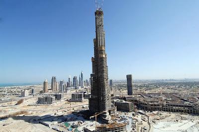 world s tallest buildings, burj dubai, times square, rockefeller center, empire strikes back