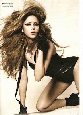 Shakira | Hollywood Singer | magazine cover photo