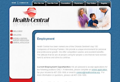 Healthcentral.org | Job Vacancies at Health Central Hospital