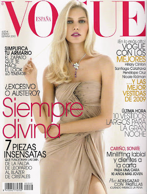 Aline Weber Vogue Spain magazine cover photoshoot
