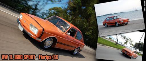 VW TL 1600 SPORT  -  FLORIPA - SC