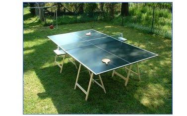 Costruire un tavolo da Ping Pong: Progetto e realizzazione