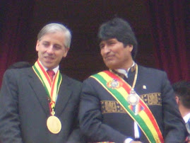 SEGUNDA POSESION DE EVO MORALES