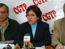 CARMELA SIFUENTES PRESIDENTA DE LA CGTP