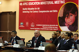 4 REUNION DE MINISTROS DE EDUCACION APEC EN LIMA