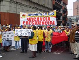 PROTESTA LA CGTP Y GREMIOS