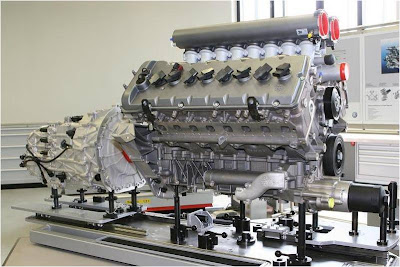 Motor Engine: Bugatti Veyron
