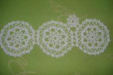 4ª- Toalha branca em crochet!!