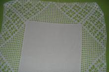 3ª- Toalha branca em crochet!!
