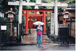 Megan in Japan