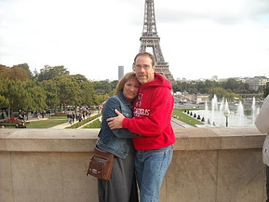 Kim and I in Paris