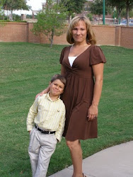 My Hawt wife Kim and our son Logan