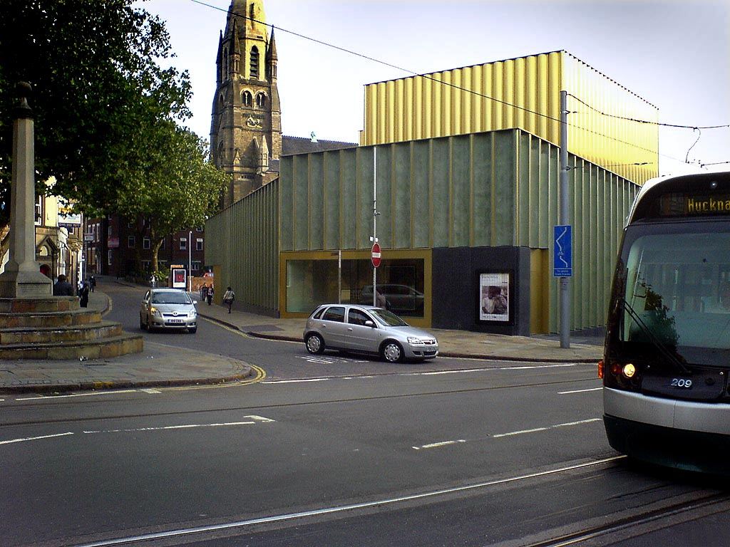 The Exterior of Nottingham Contemporary