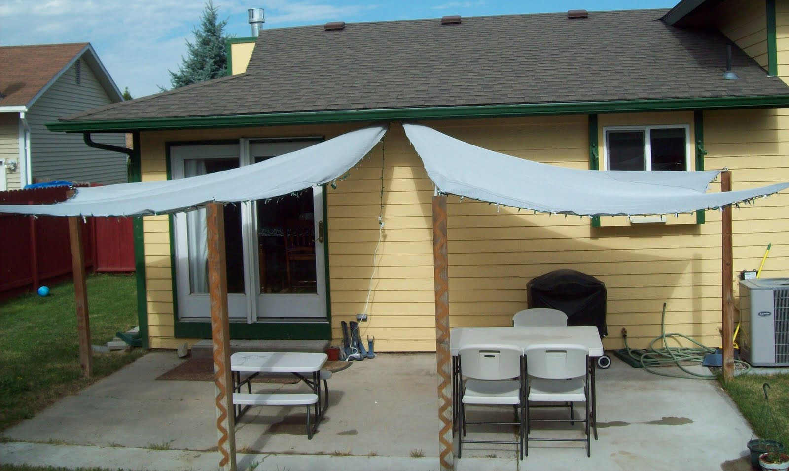 Running With Scissors Patio Shade Sails