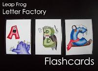 leapfrog letter factory flashcards