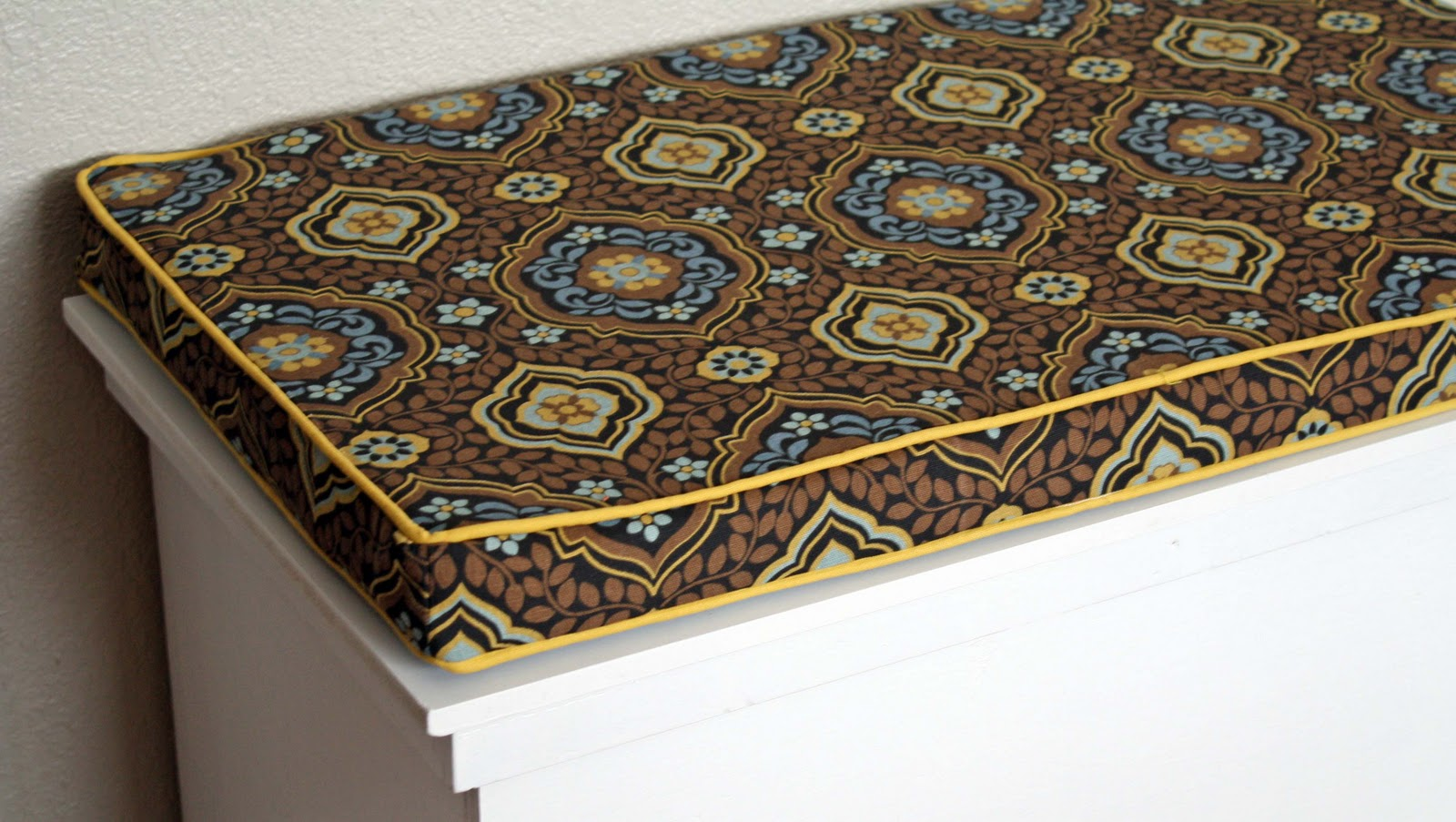 Pattern for Bench Seat Cushion Box
