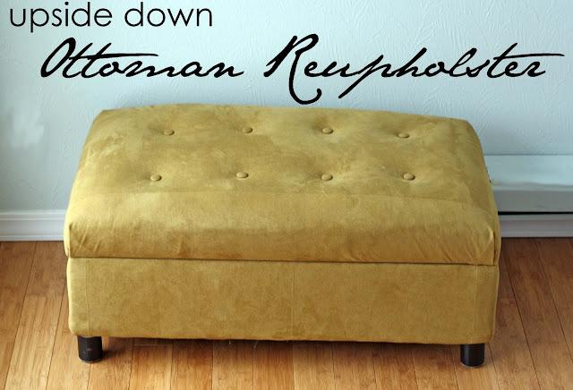 upholster an ottoman