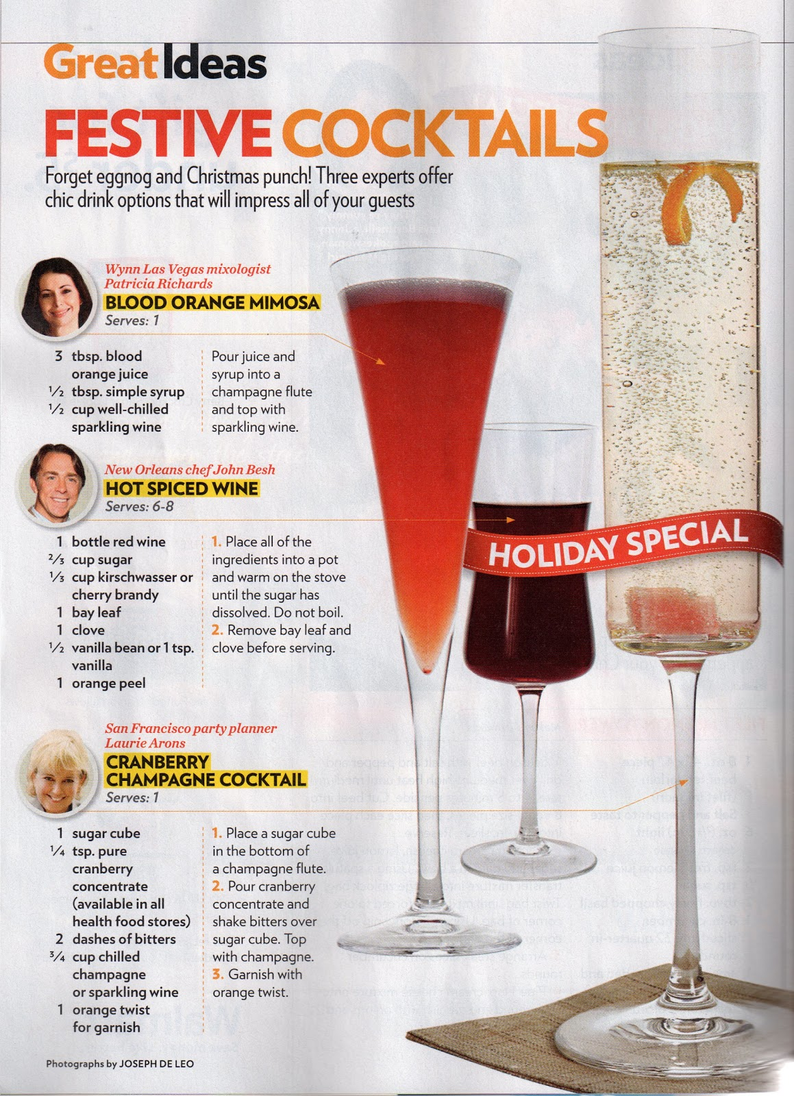Laurie arons blog as seen in people magazine for Cranberry bitters cocktail recipe