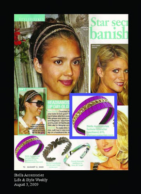 stella accessories headband on jessica alba