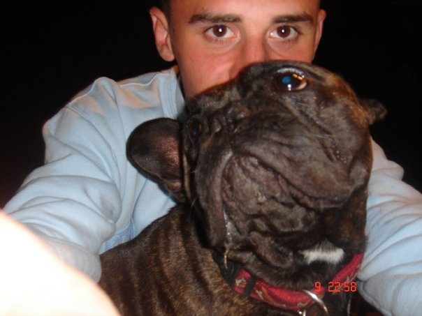 Mon fils Tony & son chien Voyou