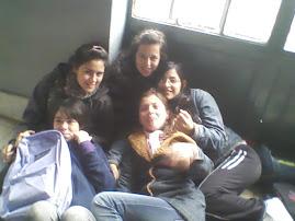 Jane, Yesi, Chiva, Bren y yo :)