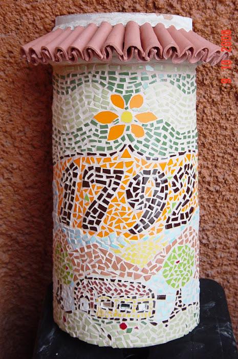 numeros de casa en mosaicos