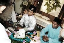 baba akad nikah sekali lafaz alhamdulillah :)